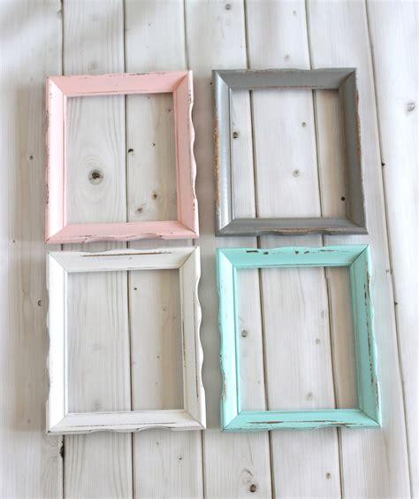 Rustic Shabby Chic Frame Wood Frame Curvy Wavy Wedding Baby