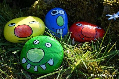 steine bemalen mit acrylfarbe diy steine bemalen kitschwerk de