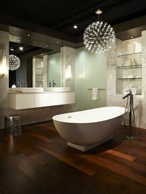 top  modern bathroom lighting ideas