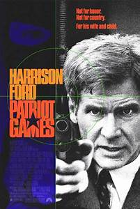 Patriot Games movie posters at movie poster warehouse ...