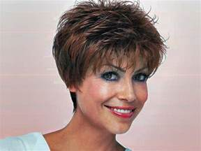 Very Short Hairstyles for Middle-Aged Women