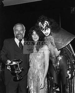 """CHER WITH GENE Simmons Of """"kiss"""" - 8X10 Publicity Photo ..."""