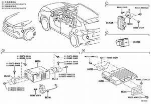 Toyota Highlander Bracket  Radio  No  1  Electrical  Audio