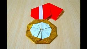 Faire Des Origami : comment faire m daille d 39 or origami l 39 art du pliage de papier youtube ~ Nature-et-papiers.com Idées de Décoration