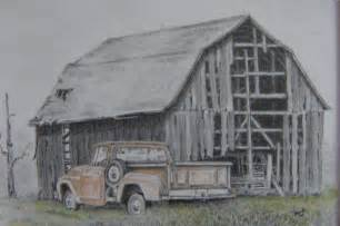 Old Barn Drawings Pencil