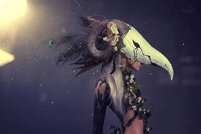 Druid Priestess Occult Wallpapers Background Chimera Vera