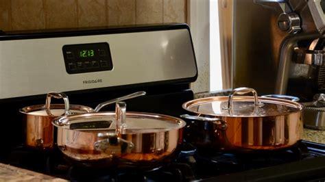 copper cookware set review reviewed pots pans