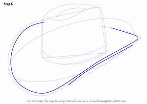 Learn How to Draw Cowboy Hat (Cowboys) Step by Step ...