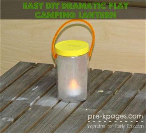 Diy Lantern For Dramatic Play Camping  Jars, Pretend Play