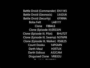 LEGO Star Wars The Video Game PS2 Cheats Cheat Codes