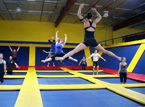 jump start  fitness resolution   trampoline