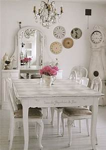 Kitchen Chairs: Shabby Chic Kitchen Table And Chairs