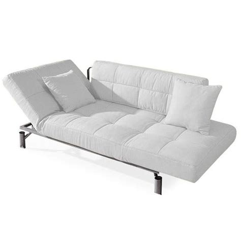canapé lit 2 personnes convertible design monaco blanc canapé lit 1 achat