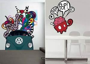 Graffiti Für Kinderzimmer : 42 coole wandtattoos f rs jugendzimmer im graffiti look ~ Sanjose-hotels-ca.com Haus und Dekorationen