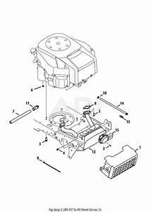 Troy Bilt 13aa92kp066 Tb2450  2013  Parts Diagram For