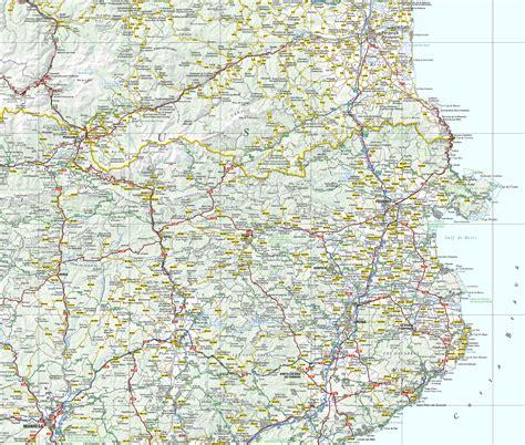 Carte Michelin Des Golfs En by Carte Golf Espagne Costa Brava Lakestevensflorist