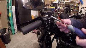 Heated Grips Install Harley Touring