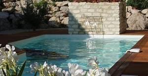 pascal daubigeon les accessoires pour piscines piscine With cascade d eau piscine