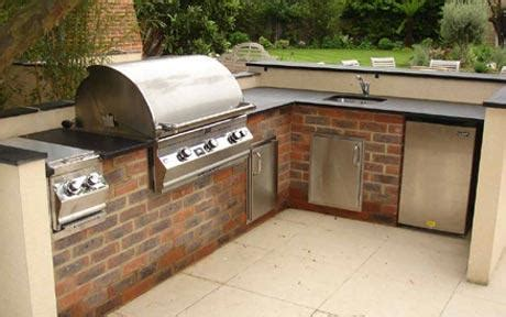 outdoor kitchen cabinets uk outdoor kitchens the next in thing telegraph 3842