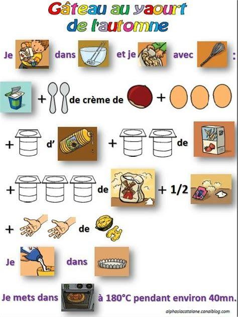 recette de cuisine gateau au yaourt recette du gâteau au yaourt de l 39 automne activités culinaires à l 39 école