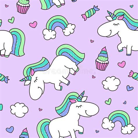 unicorno ed arcobaleno illustrazione vettoriale illustrazione di pastello 77550614
