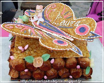 les mercredis de julie bapteme theme papillons piece