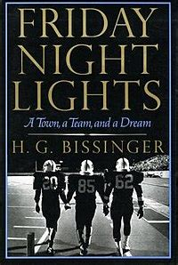 friday lights book friday lights a town a team and a
