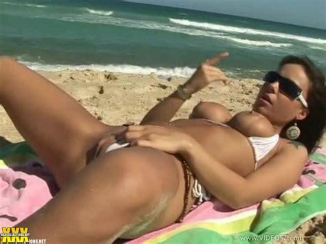 Monica Mattos Sexy Brazilian Babe Anal Sex On Beach Video