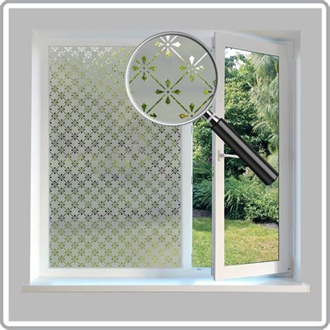 unique bathroom designs etched glass repeat pattern window