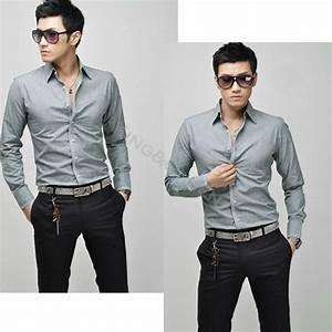 2014 New Korean Casual Men's Fashion Stylish Casual Slim ...