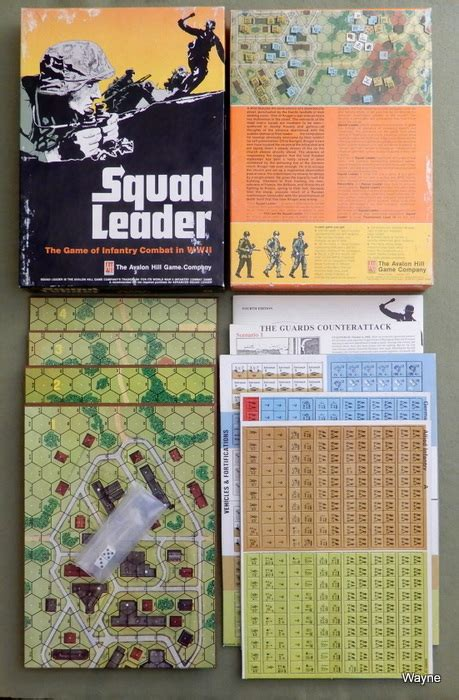 advanced squad leader waynes books rpg reference