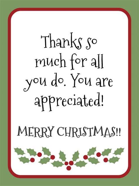 Printable Merry Christmas Gift Tags