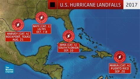 Harvey, Irma, Maria And Nate Retired Following Devastating