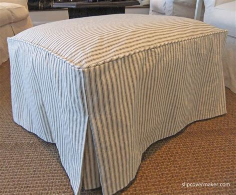 Ottoman Cover by Best 25 Ottoman Slipcover Ideas On Ottoman