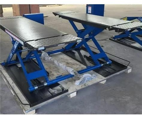 Low Height Rising Scissor Car Lift Sdn-sm-3.0 Hydraulic