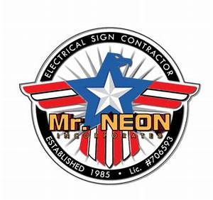 Custom Sign Manufacturer Mr Neon