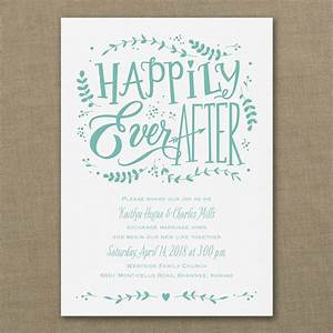 whimsical fairytale wedding invitations little flamingo With wedding invitation quotes fairytale