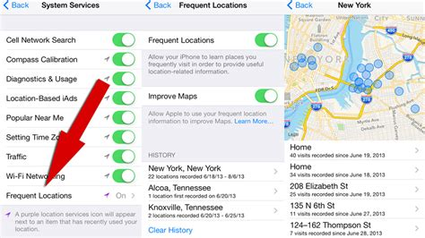 how to change your location on iphone ios 7 is tracking you via gps apple maps