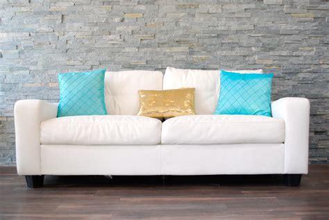 white sofa throw pillows white leather plush sofa decorative pillows not included