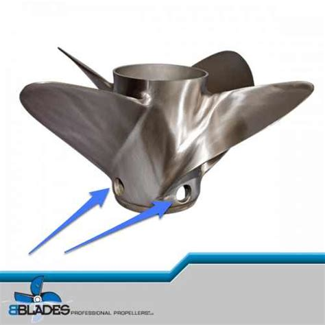 Boat Propeller Ventilation by Bblades Propellers Bblades Custom Vent Options