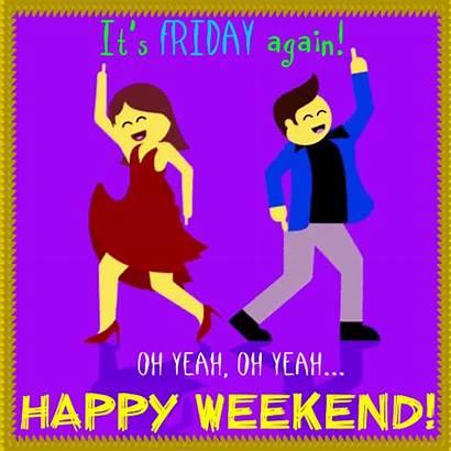 Friday Again Weekend Enjoy 123greetings Its Cards