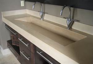 double trough sink bathroom pinterest
