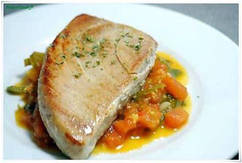 cuisiner du thon frais recette de thon albacore à l orientale