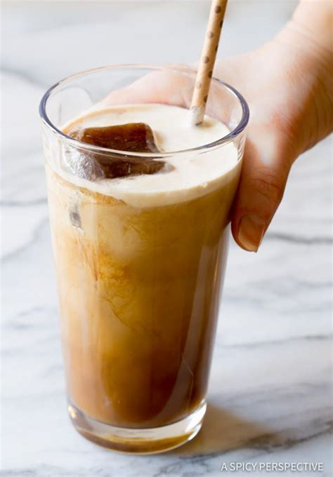 With my delicious, best iced coffee recipe ever, you can easily customize the strength, flavorings, calorie content, and fat content, and do iced coffee is delicious. Ultimate Iced Coffee Recipe - Tips for making the BEST iced coffee! | http://ASpicyPerspective ...