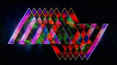 Hd Wallpaper 1920x1080 Multi Colored Shapes Background Wallpaper