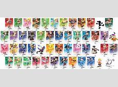 Smash Bros Series Amiibo Checklist by Xenomorph05 on