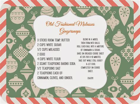 sweet savannah  recipe cards  picmonkey