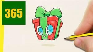 Dessin Cadeau De Noel Kawaii Comment Dessiner Cadeau De No