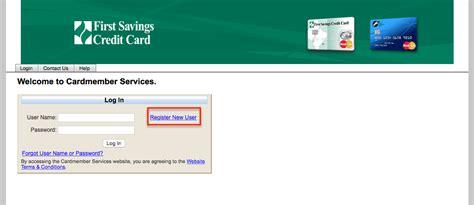 Like the bank's rewards checking. First Savings Credit Card Login   Make a Payment - CreditSpot