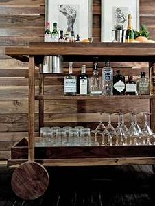 our first home on Pinterest Bar Carts, Bar Cart Styling